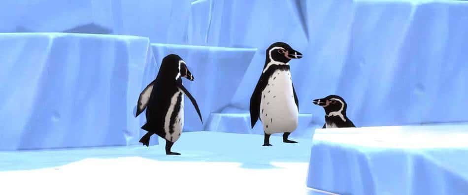 Pingüinos en Los Sims 4