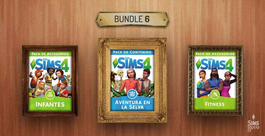 Bundle 6 de Los Sims 4