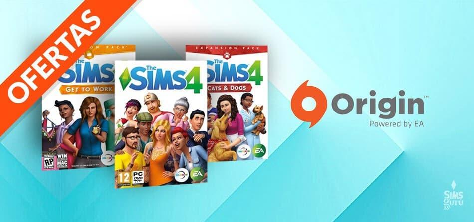 Ofertas de Origin en Los Sims 4