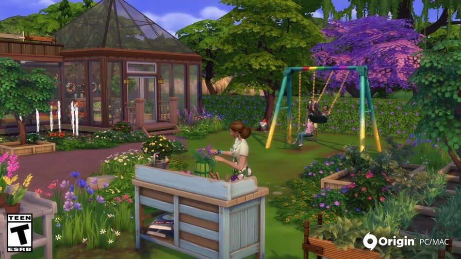 Nuevos tejados de cristal en Los Sims 4