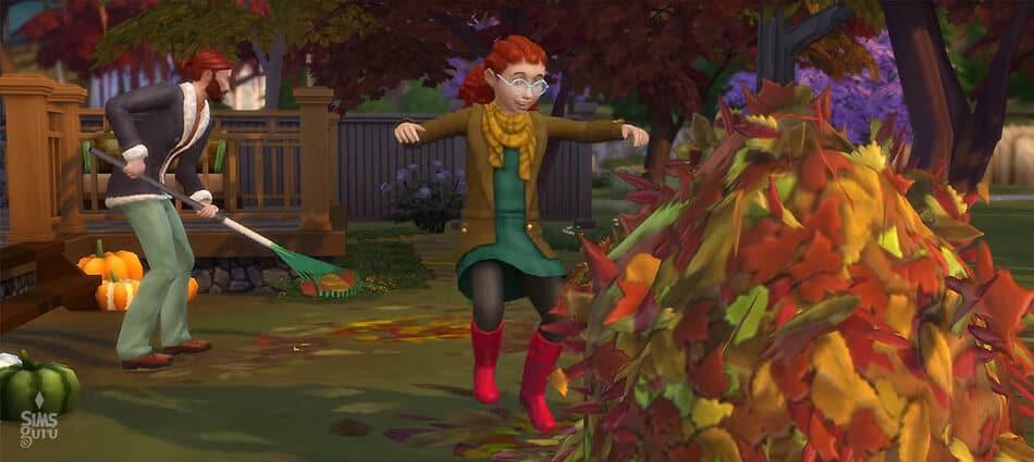 Los Sims 4 Y Las Cuatro Estaciones. Otoño
