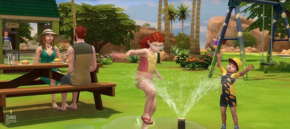 Los Sims 4 Y Las Cuatro Estaciones. Verano