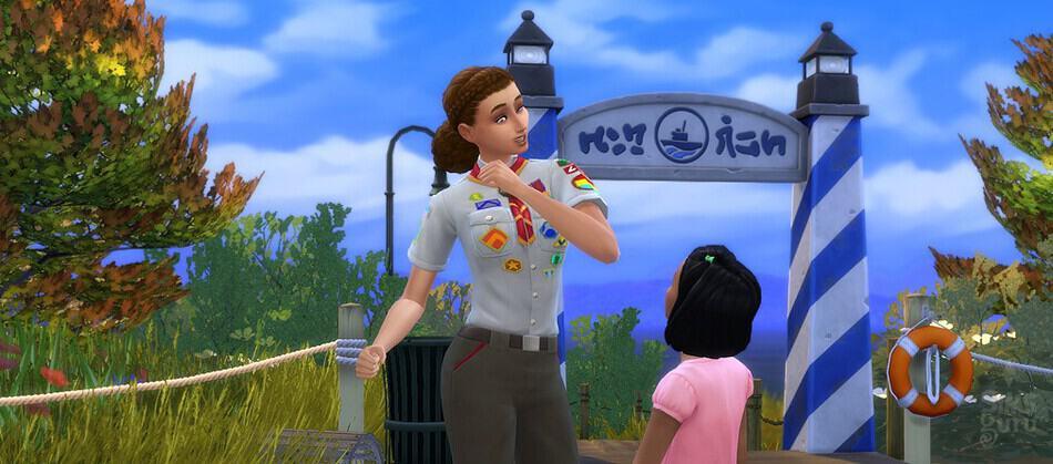 Los Sims 4 Empleos adolescentes: Explorador