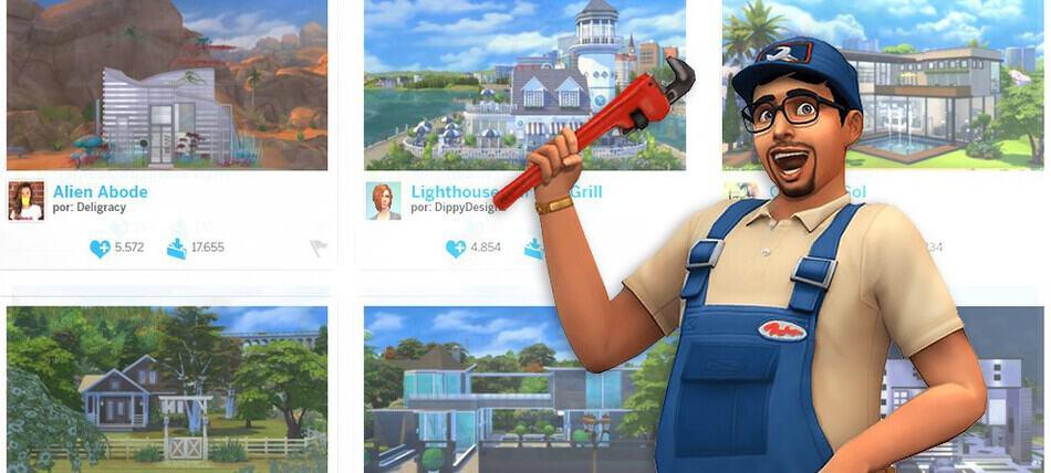 Actualización Sims 4 galería