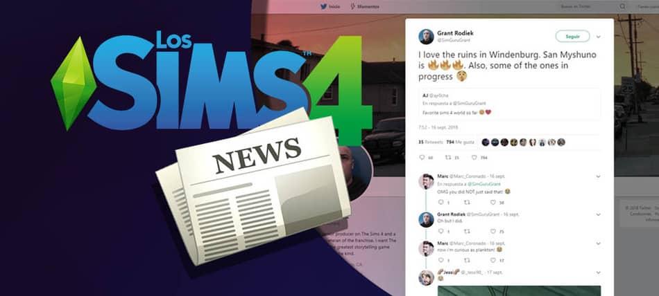 Nuevos mundos en desarrollo para Los Sims 4
