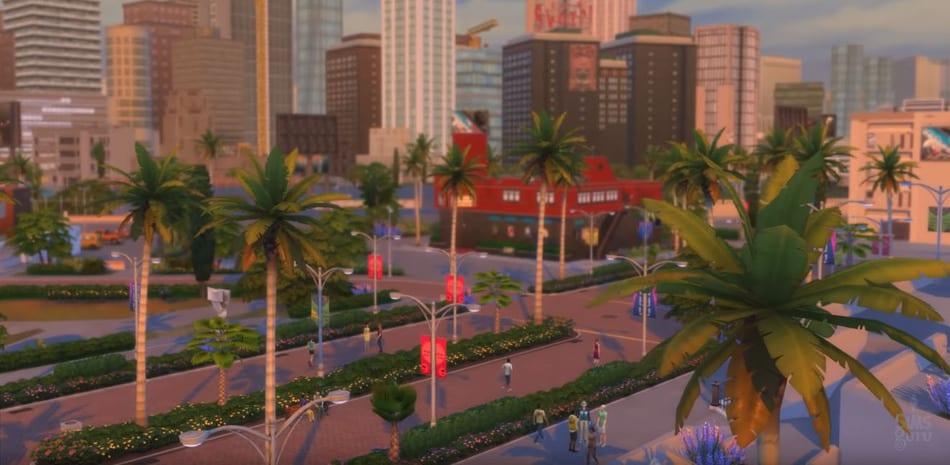 Los Sims 4 Rumbo a la fama: Nuevo mundo Del Sol Valley