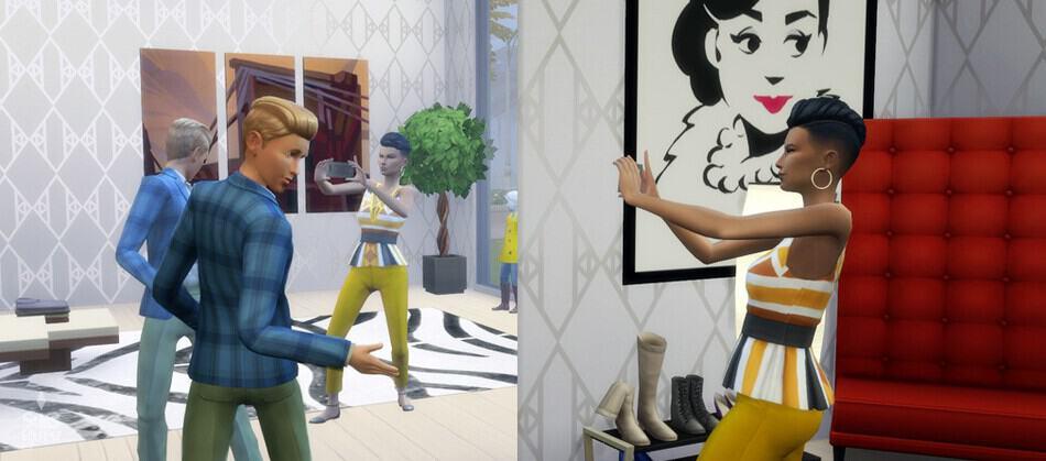Influencer de estilo, nueva profesión en Los Sims 4
