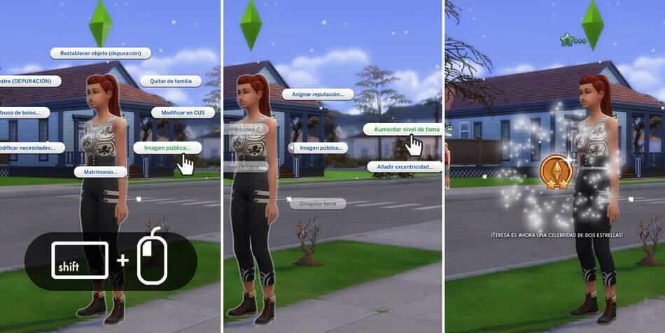 Aumentar la fama en Los Sims 4 Rumbo a la fama