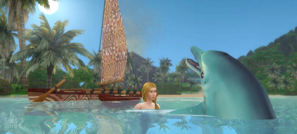 Profesión conservacionista Los Sims 4 Vida Isleña