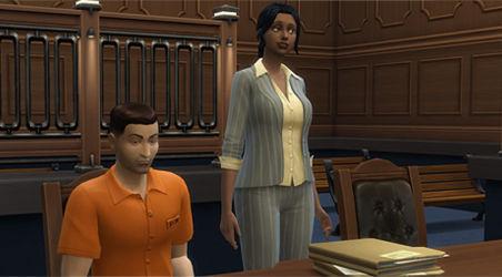 Profesión Abogado Los Sims 4