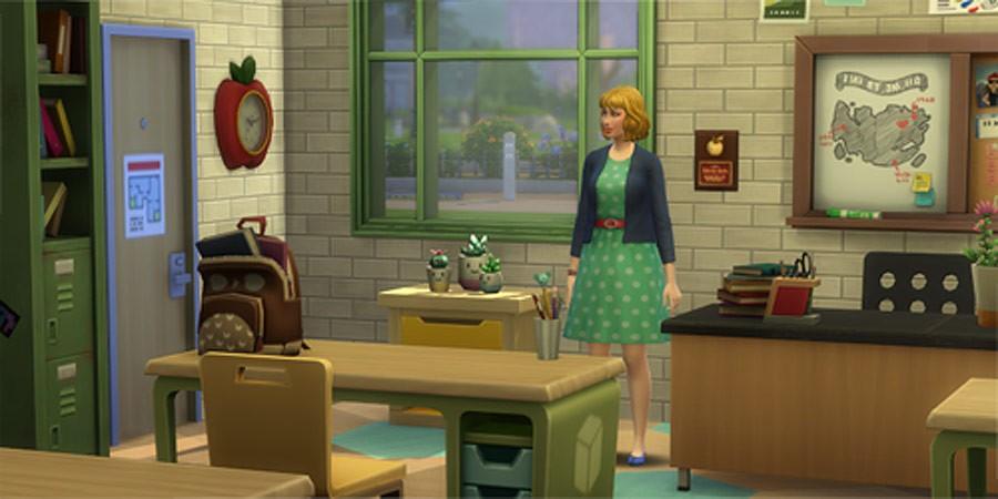 Profesión Educador Los Sims 4